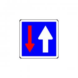 Panneau circulation alternée