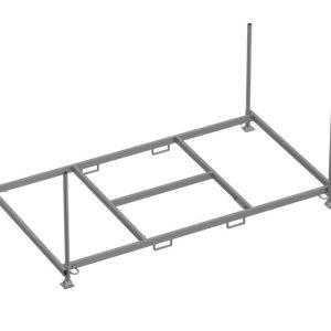Rack de rangement horizontal